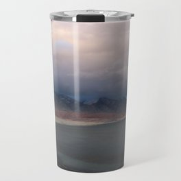 mongolian lake Travel Mug