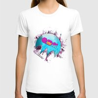 edm T-shirts featuring Edm Pure Love - Dope Ghost by Dope Ghost