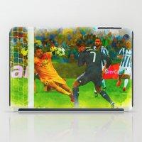ronaldo iPad Cases featuring Cristiano Ronaldo - Job Done by Don Kuing