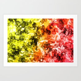 Abstract 2014-11-01 Art Print