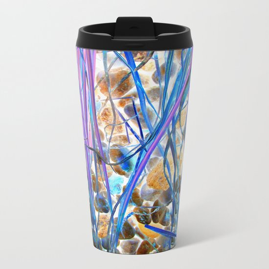 Nature Remixed Metal Travel Mug