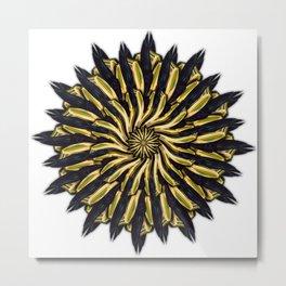 Aureum Bloom - No Background Edit Metal Print