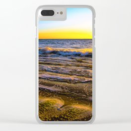 Rota Spain Beach 2 Clear iPhone Case