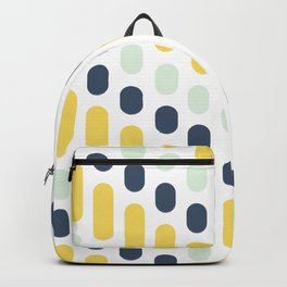 Hello Sunshine Dots and Dashes Backpack