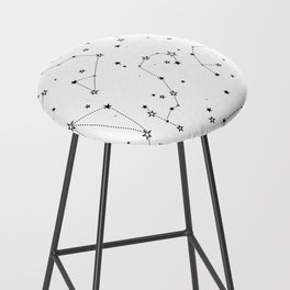 stars in the zodiac constellations Bar Stool