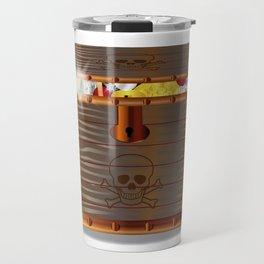 Full Pirates Treasure Chest Travel Mug