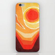 Modern Mid-Century Desert Sunset iPhone & iPod Skin