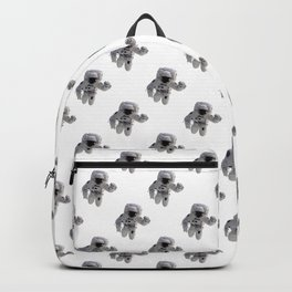 Seamless Background Astronaut Backpack
