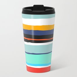 Pop Dot Line Travel Mug