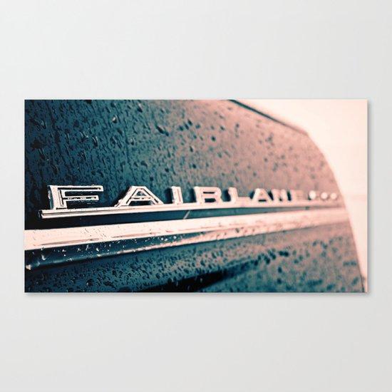Fairlane emblem Canvas Print