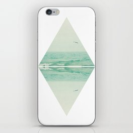 Parallel Waves iPhone Skin