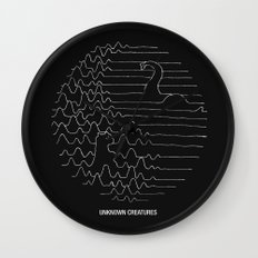 Unknown Creatures Wall Clock