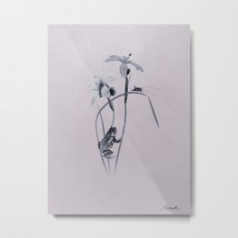Wildflower Harmony Metal Print
