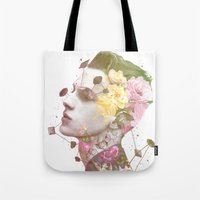 charlie Tote Bags featuring Charlie by Krister Selin
