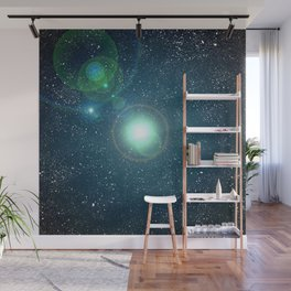 Sunny Space Daze Wall Mural
