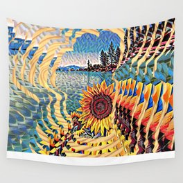 Tahoe Sunburst Wall Tapestry