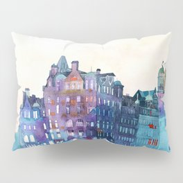 Winter in Edinburgh Pillow Sham