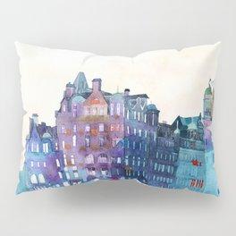Winter in Edinburgh Pillow Sham