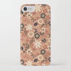 Festive Florals (Oranges) Slim Case iPhone 7
