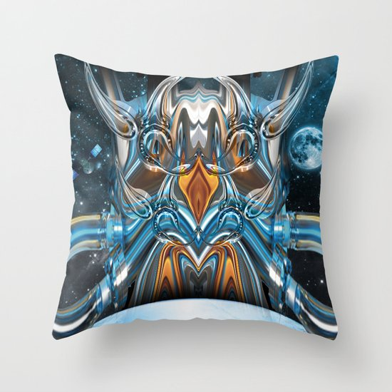 ion rising Throw Pillow