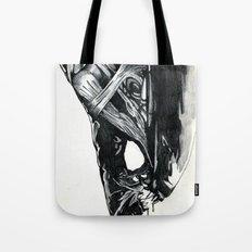 Alien Head Side Tote Bag