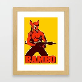 The Awesome BAMBO Framed Art Print