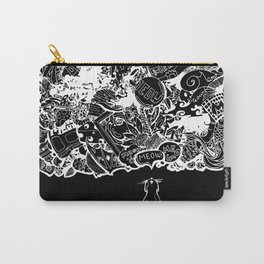 Cat Meows Carry-All Pouch