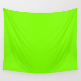 Lawn Green Wall Tapestry