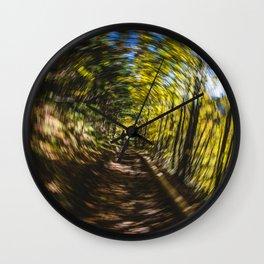Spinning Around the Nature Wall Clock