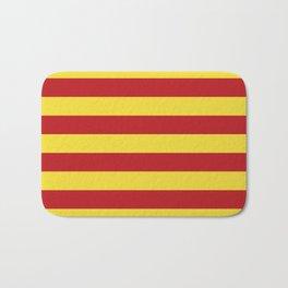 Catalunya: Catalan Flag Bath Mat