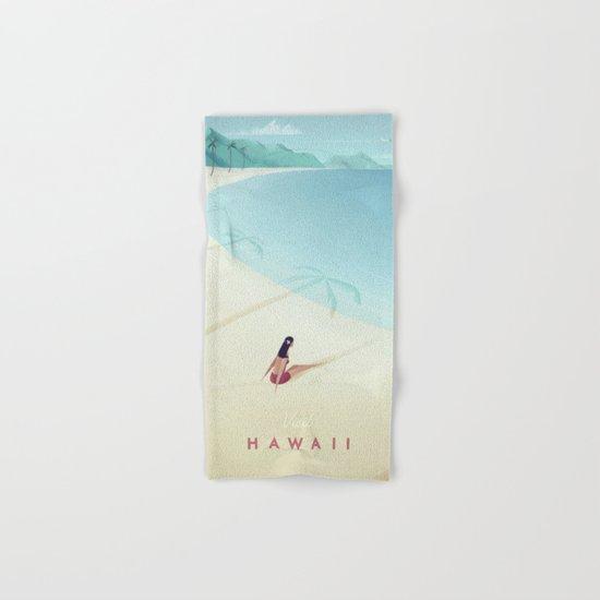 Hawaii Hand & Bath Towel