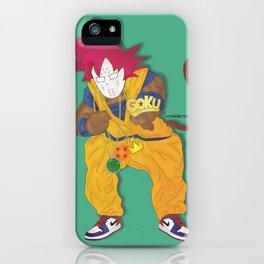 Goku Killa iPhone Case
