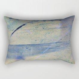 Feeling blue Rectangular Pillow