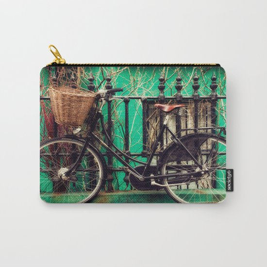 Bicycle at Rest Carry-All Pouch