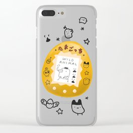 Wild Animal Clear iPhone Case