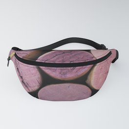 Red Wine Corks 4 Fanny Pack