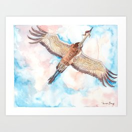 Test Flight Art Print