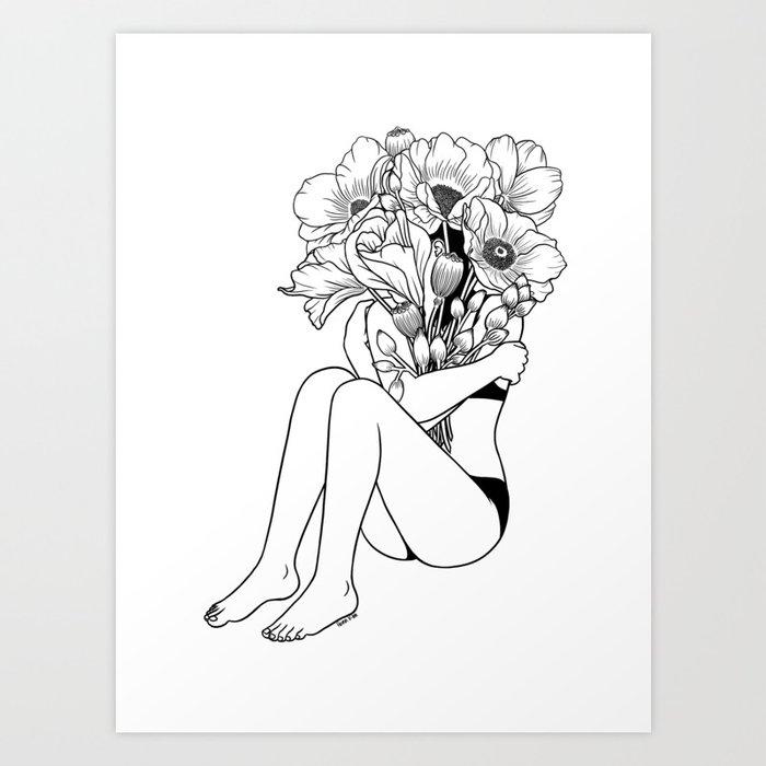 Love Myself Kunstdrucke