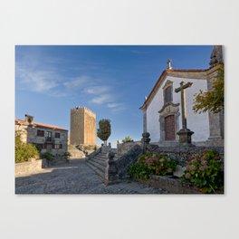 Linhares castle, Portugal Canvas Print