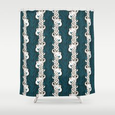 Cool Octopus Reef Shower Curtain