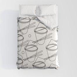 cup noodle Comforters