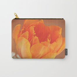 Romantic Flower Tulip Carry-All Pouch