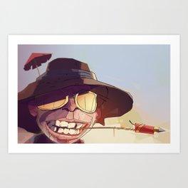 Borderlands - SHADE Art Print