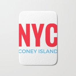 NYC Coney Island Bath Mat