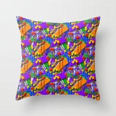 The Big O (Drip Porn Pattern) Throw Pillow