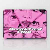 the breakfast club iPad Cases featuring Breakfast Club by David Amblard