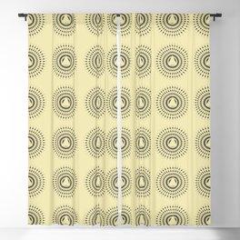 Modern Abstract Geometric pattern Blackout Curtain