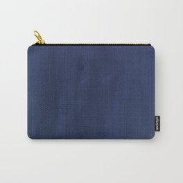 Indigo Velvet Carry-All Pouch
