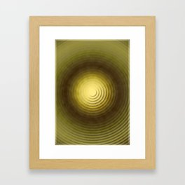 Top Circles  Framed Art Print