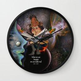 The Leprechaun Wall Clock